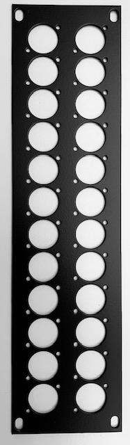 Stage Box Plate with 24hole SD24-24P