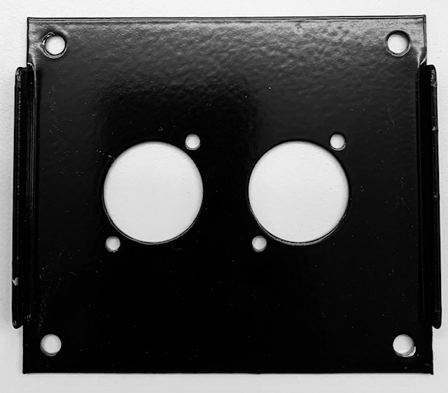 Stage Box Plate with 2 hole SD4-2-P