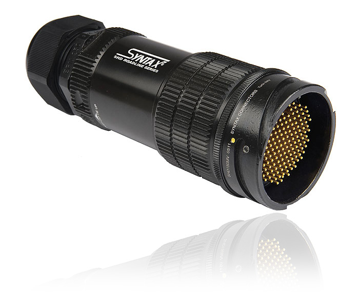 SHD ROADLINE HD series, Gold Crimp Contacts (bundled), Inline male 150 pin / M40 Normal    (cable Ø  19-28 mm)