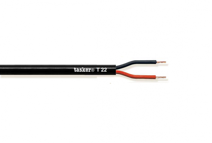 Loudspeaker cable 2x14AWG - 2x2,08mm&sup2;<br />T22