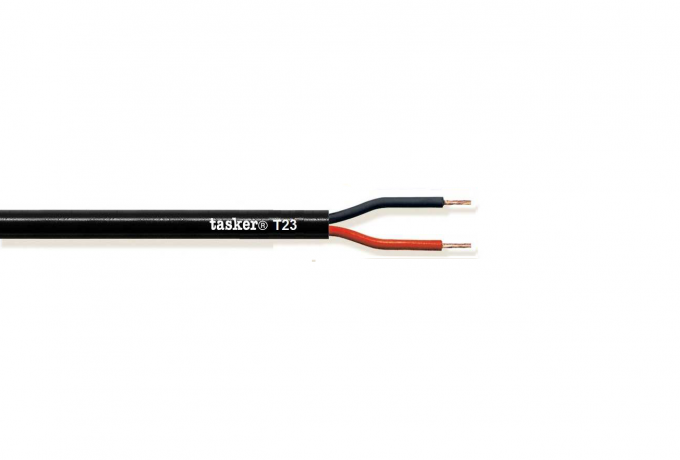 Loudspeaker cable 2x13AWG - 2x2,62 mm&sup2;<br />T23