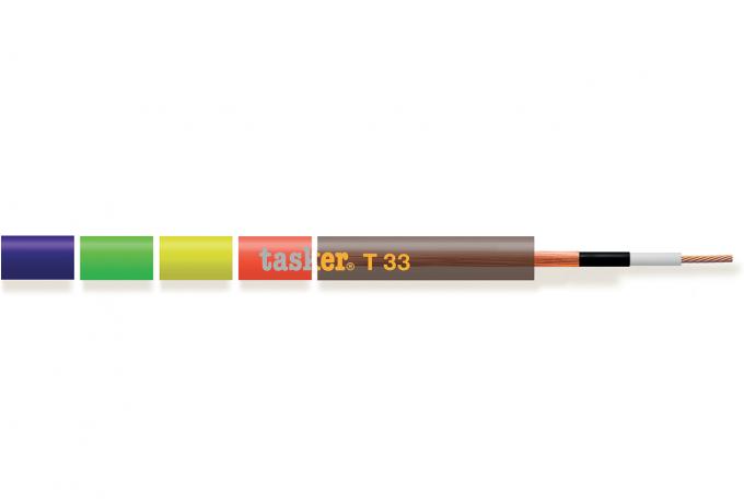 Kabel voor gitaar en muziekinstrumenten - PREMIUM-serie<br />T33 1x0,50