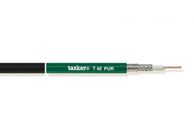 Coaxkabel 12G-SDI 1x0,88 in PUR 1x0,88 mm&sup2; 75Ohm<br />T42PUR