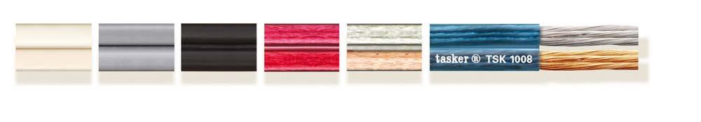Extra flexibele platte kabel 2x1.00 TSK1008