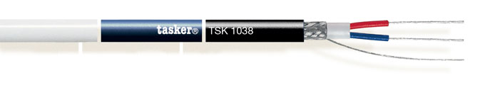 Digitale kabel 110 Ohm. DMX Led<br />TSK1038