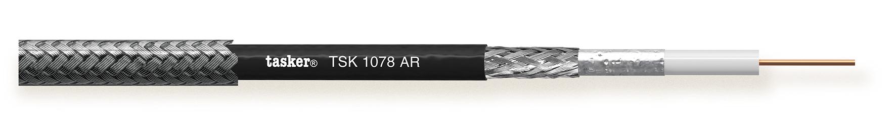Armored coax kabel HDTV-HD SDI 1x0.52 (75Ohm)<br />TSK1078 AR