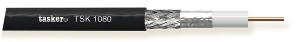 Coax kabel HDTV-HD SDI 1x2.00 (75Ohm) in LSZH<br />TSK1080 L.S.Z.H.