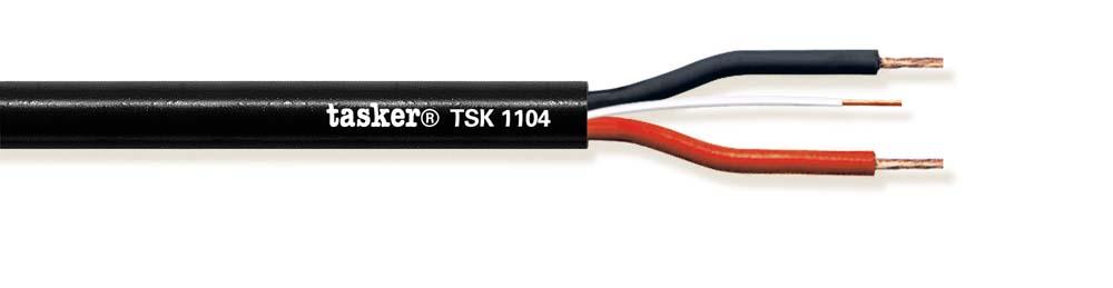 Prof Luidspreker kabel TSK1104 met remote control 2x4,00 mm²