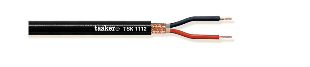Round shielded loudspeaker cable 2x1.00<br />TSK1112