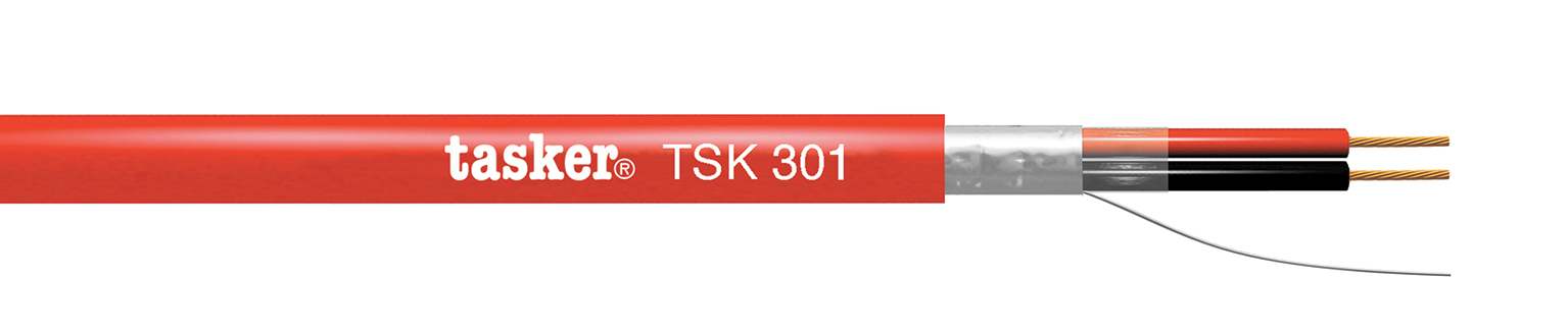 Fire detection cable 2x1.00<br />TSK301