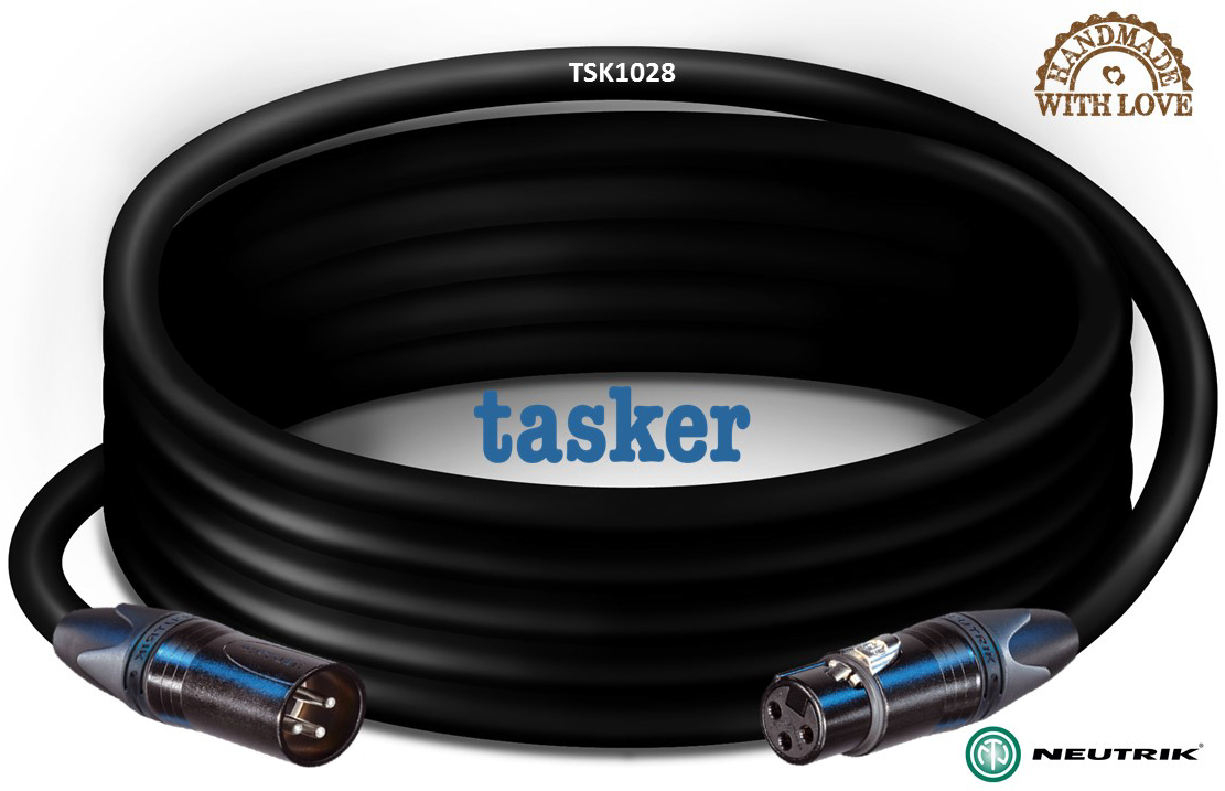 Microfoon kabel NC3MXX-NC3FXX Analoog-Balanced  TSK1028
