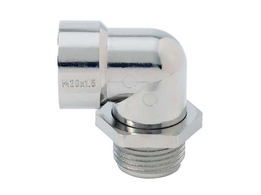 Zinklegering  Jacob haakse  kabelwartels  metrisch                                                                              Schroefdraad aansluiting M16 x 1,5                                                                                                                                                                                                          Schroefdraad lengte (mm) 16,0                                                                                                                                                                                                                                                                                                                              Hoogte  (mm)  38,0                                                                                                                                    Diameter (mm) 12,2                                                                                                                              Kleur  Licht grijs RAL7035 Light  Gray
