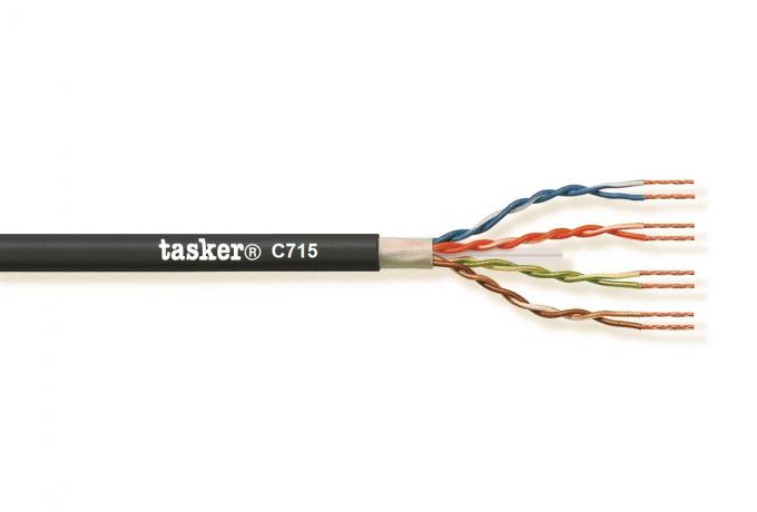 LAN kabel 6A U.T.P. L.S.Z.H.<br />C715 L.S.Z.H.