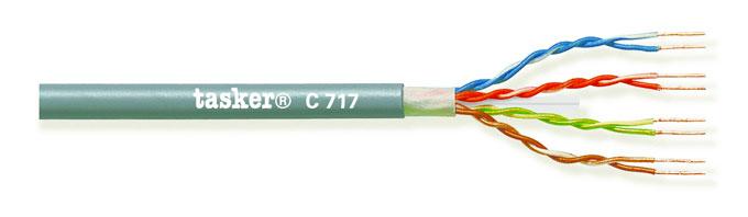 LAN kabel 6A U.T.P.<br />C717 L.S.Z.H.