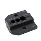 Neutrik Video BNC Accessories DIE-R-BNCX-PDG.Pin crimping 1.07mm.Shield and jacket:Hex crimp 6.47(A)mm 5.0(B)4.53©