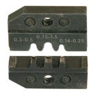 Neutrik Video BNC Accessories DIE-R-HA-1 Standard B-crimp aac.to IEC 60352-2.Wire size AWG 24-22-0.34mm²