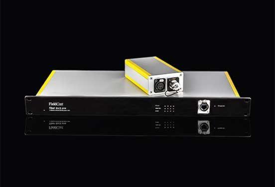 FieldCast Fibre Dock System One - voor 4 PTZ-camera's