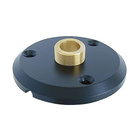 Neutrik Gooseneck Accessories GF1.Heavy duty mounting flange for GN-Series,to mount the GN onto a flat surface.