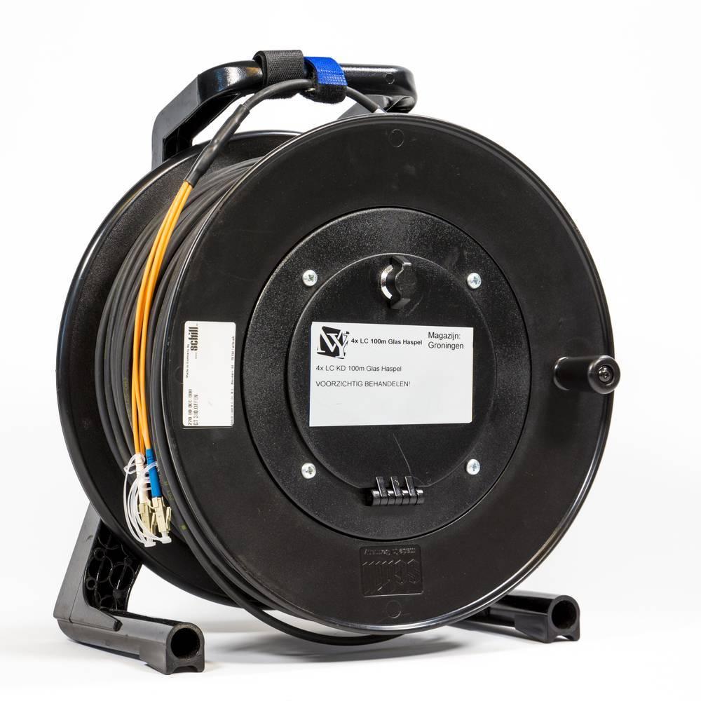 Fiber Optic Broadcast Breakout         Multimode 2 LC-2 LC at Schill Drum