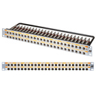 Neutrik Longframe Patch Panels 48 way. LF48-1S  Silver FRONT