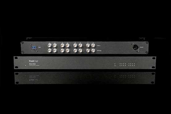 FieldCast Mux / Demux One 3G, 4-kanaals CWDM-box