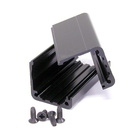 Neutrik Modules  NA-Housing.Extrusion profile set including screws,black plated , for combination with all D Shape.