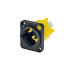 Neutrik powerCON TRUE1 NAC3MPX inlet-outlet combination