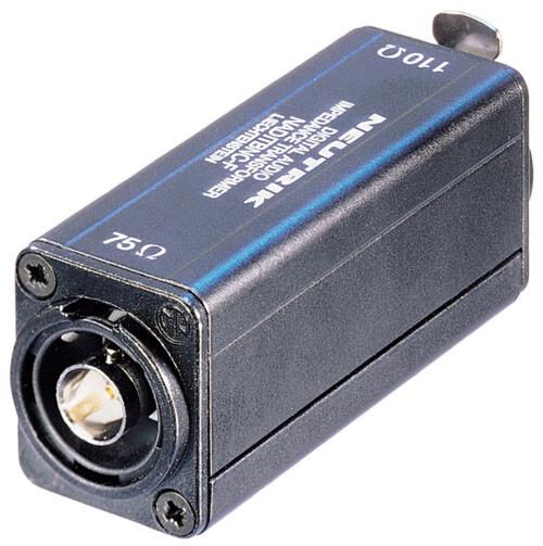 Neutrik AES/EBU Impedance Transformers NADITBNC-F