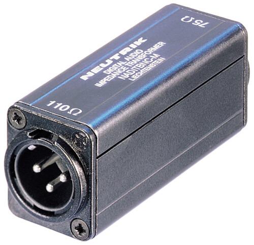 Neutrik AES/EBU Impedance Transformers NADITBNC-M