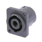 speakON Loudspeaker chassis connectors 4 pole NL4MP-V-2