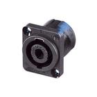speakON Loudspeaker chassis connectors 4 pole NL4MP-V