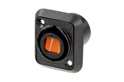 Neutrik opticalCON MTP® 12 Chassis Connector NO12FDW-A .