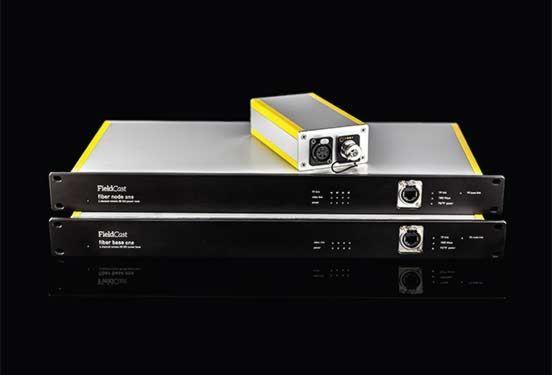 FieldCast Fibre Node System One - voor 4 PTZ-camera's