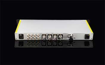 FieldCast Fibre Node One. lokaal controlestation voor 4 PTZ-camera's