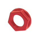 Jack Accessories  NRJ-NUT-R. Hexagonal red plastic nut
