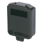 Neutrik opticalCON QUAD SCDX  Hinged cover.