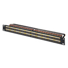 Neutrik Longframe Patch Panels 96 way. XPM-96SO  BLACK FRONT