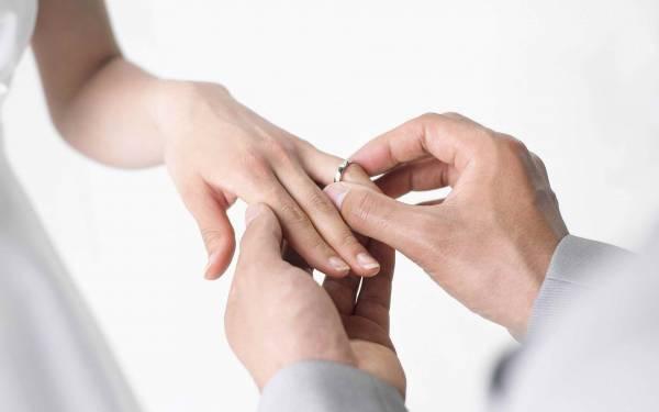 trouwringen welke hand
