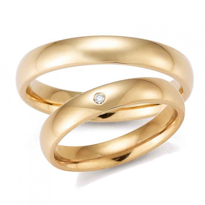 Rosé gouden trouwringen
