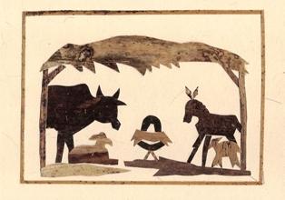 Stal met dieren (liggend)
