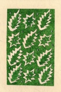 Kerstbomen abstract