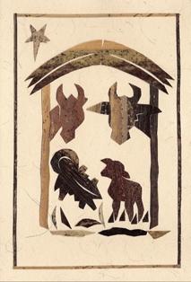 Stal met dieren (staand)