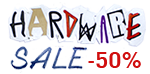 HARDWARE SALE 50%