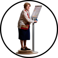 Stabiliteitsoefeningen en balansoefeningen voor ouderen en dementerenden