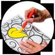 Bastelprodukte für Senioren und Demenzkranke: Malen und Sticken