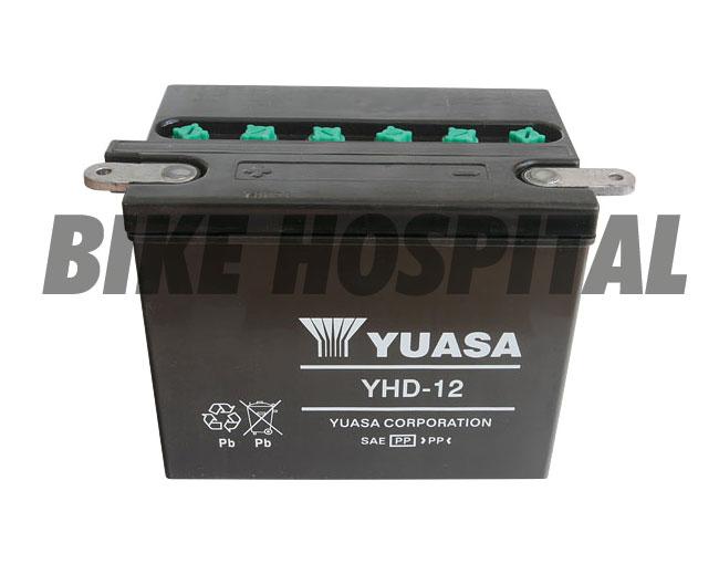 YUASA YHD12 #66007-84 BLACK