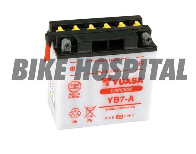 YUASA YB7-A 66006-70 LOODZUUR