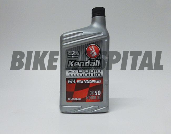 SAE-50 GT-1 QUART KENDALL