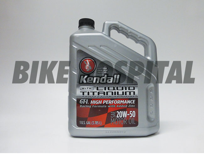 20W50 GT-1 US GALLON KENDALL