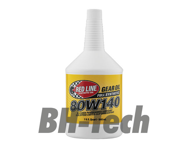 80W140 GEAR OIL GL-5 US QUART